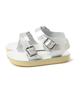 "SALT WATER SANDALS / ""Seawee"" サンダル シルバー (10.5~12cm)"