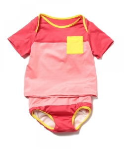 patagonia / 16 infant little sol swim set (6~24m)