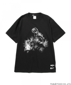 モリタクマ / GODZILLA VS BEAMS JAPAN T-shirt BLACK