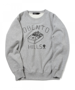 かせきさいだぁ / OBENTO HILLS Sweat Shirt