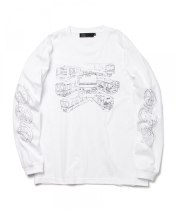 黒川知希 / TRAINTRAIN Long Sleeve T-shirt