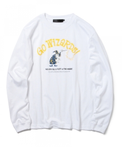 smART / Yusuke Hanai(花井祐介) Go Wizards! Long Sleeve T-shirt