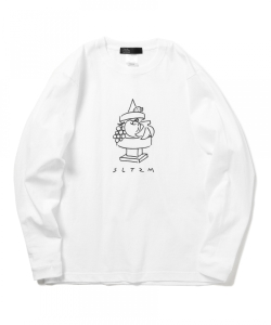 SALOTEZUMO / FRUIT & BLOCK Long Sleeve T-shirt