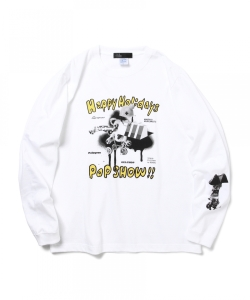 POP SHOW !! / Happy Holidays Long Sleeve T-shirt