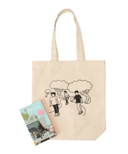 IN THE CITY / SATURDAY IN THE PARK Tote Bag set ver.2