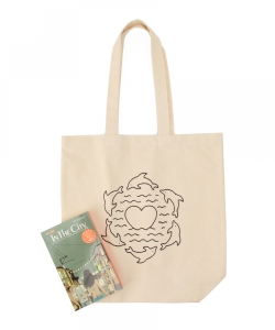 【タイムセール対象品】IN THE CITY / SEA OF LOVE Tote Bag set ver.2