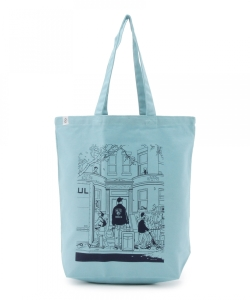 ADRIAN TOMINE / New Neighbors Tote Bag