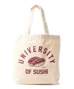 かせきさいだぁ / UNIVERSITY OF SUSHI Tote Bag