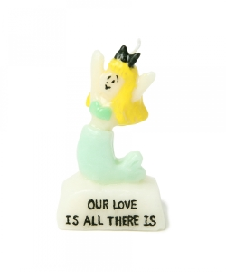 OLGA GOOSE CANDLE / MERMAID CANDLE