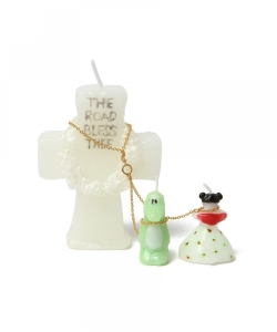OLGA GOOSE CANDLE / BRIDE&GROOM CANDL