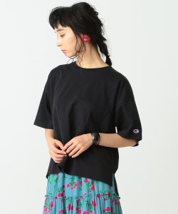 【予約】Champion × Ray BEAMS / 別注 Big Pocket Tシャツ