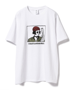 【予約】NAIJEL GRAPH × Ray BEAMS / 別注 GIRL Tシャツ◇