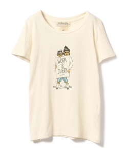 REMI RELIEF / WORK is OVER Tシャツ
