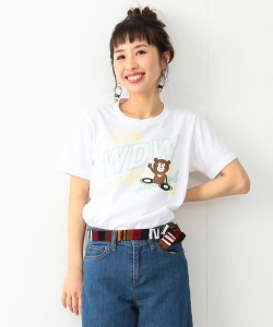 【予約】【WEB限定】<WOMEN>FUJI ROCK FESTIVAL'17 × Ray BEAMS / DJ BEAR Tシャツ