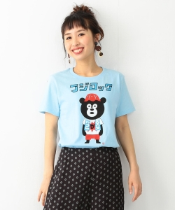 【予約】【WEB限定】<WOMEN>FUJI ROCK FESTIVAL'17 × Ray BEAMS / FES BEAR Tシャツ