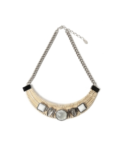 ◇ADER.bijoux / レトロ ラタン ネックレス