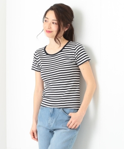 Letroyes / ANNE RAYE ボーダーTシャツ
