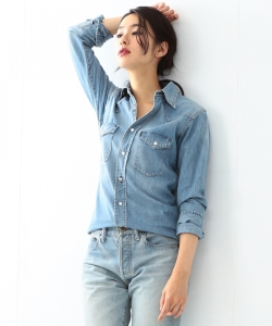 MADISONBLUE / WESTERN SHIRT DENIM