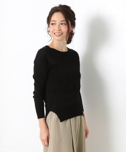 【BAILA4月号掲載】JOHN SMEDLEY for Demi-Luxe BEAMS / 別注 シルククルーネック