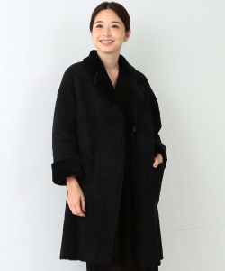 UNKNOWN×Demi-Luxe BEAMS / 40th別注 ムートンリバーシブルコート