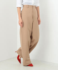 ★●【MADISONBLUE / WOOL COTTON HIGH WAIST CHINO PANTS】