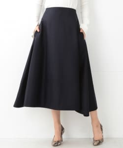 【Marisol10月号掲載】MADISONBLUE / WOOL MI-MOLLET FLAIR SKIRT