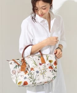 "ROBERTA PIERI / ""FLOWER NATURE SD"" トートバッグ"