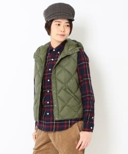 ROCKY MOUNTAIN FEATHERBED × fennica / <Women's>6Month Hoodie Down vest
