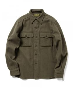 BUZZ RICKSON'S / SHIRTS-FLIGHT-WOOLEN
