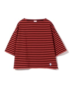 ORCIVAL / <Women's>ボーダー 七分袖 カットソー