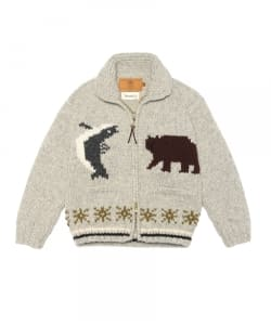CANADIAN SWEATER COMPANY×fennica / <Men's>HOKKAIDO COWICHAN(zip type)