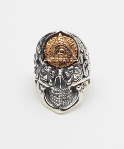 "B.W.L×JEFF DECKER ""BLUE EYED DEVILS""Collections / Dome with Eye RING"