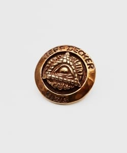"B.W.L×JEFF DECKER ""BLUE EYED DEVILS""Collections / All Bronze Pin"