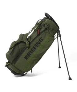 BRIEFING × BEAMS GOLF / 別注 STAND CADDIE BAG レンジャーグリーン