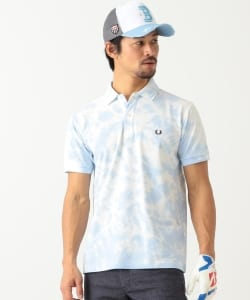 FRED PERRY ×BEAMS GOLF / 別注 タイダイ ポロシャツ