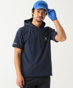 BEAMS GOLF ORANGE LABEL / 半袖 裏毛 パーカ
