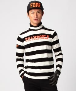 BEAMS GOLF ORANGE LABEL / ボーダータートル
