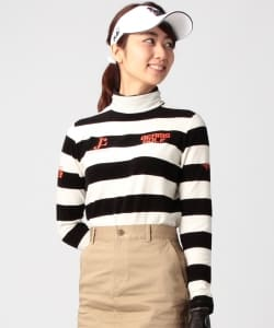 BEAMS GOLF ORANGE LABEL / ボーダー タートル