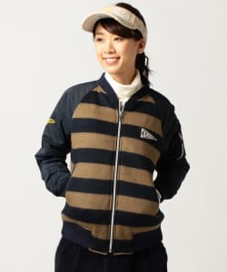 BEAMS GOLF ORANGE LABEL / シャギー MA1ブルゾン