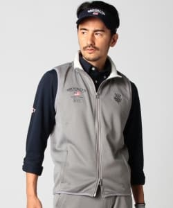 BEAMS GOLF PURPLE LABEL / BROOKLYN GOLF & SUPPLY KARUISHI フルジップ ベスト