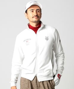 BEAMS GOLF PURPLE LABEL / BROOKLYN GOLF & SUPPLY KARUISHI フルジップ ジャケット