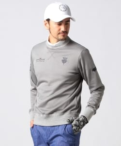 BEAMS GOLF PURPLE LABEL / MONTAUK KARUISHI スウェットシャツ
