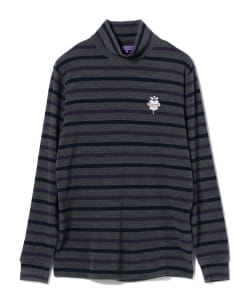 BEAMS GOLF PURPLE LABEL / ボーダー シャツ