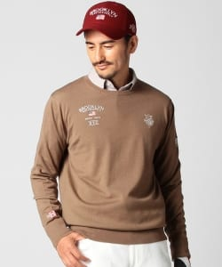 【1/13~再値下げ】BEAMS GOLF PURPLE LABEL / BROOKLYN GOLF & SUPPLY クルーニット
