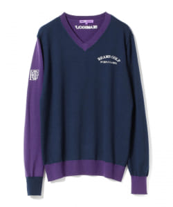 BEAMS GOLF PURPLE LABEL / クルーネック セーター(MEN'S)