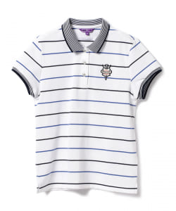 BEAMS GOLF PURPLE LABEL / ボーダー ポロ