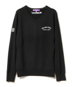 BEAMS GOLF PURPLE LABEL / Vネック ニット
