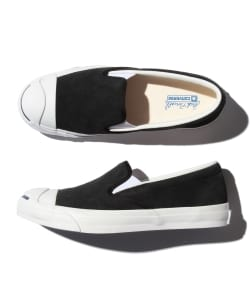 【Begin5月号掲載】CONVERSE / JACK PURCELL SLIP-ON SUEDE