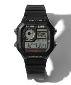 【OCEANS 7月号掲載】CASIO / 1200WH-1A