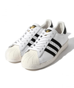 【InRed6月号掲載】【MORE5月号掲載】adidas / SUPERSTAR80s